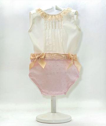 89ff82653 Conjunto bebé M. 6103 · Conjunto bebé camisa batista con braguita plumeti  ...