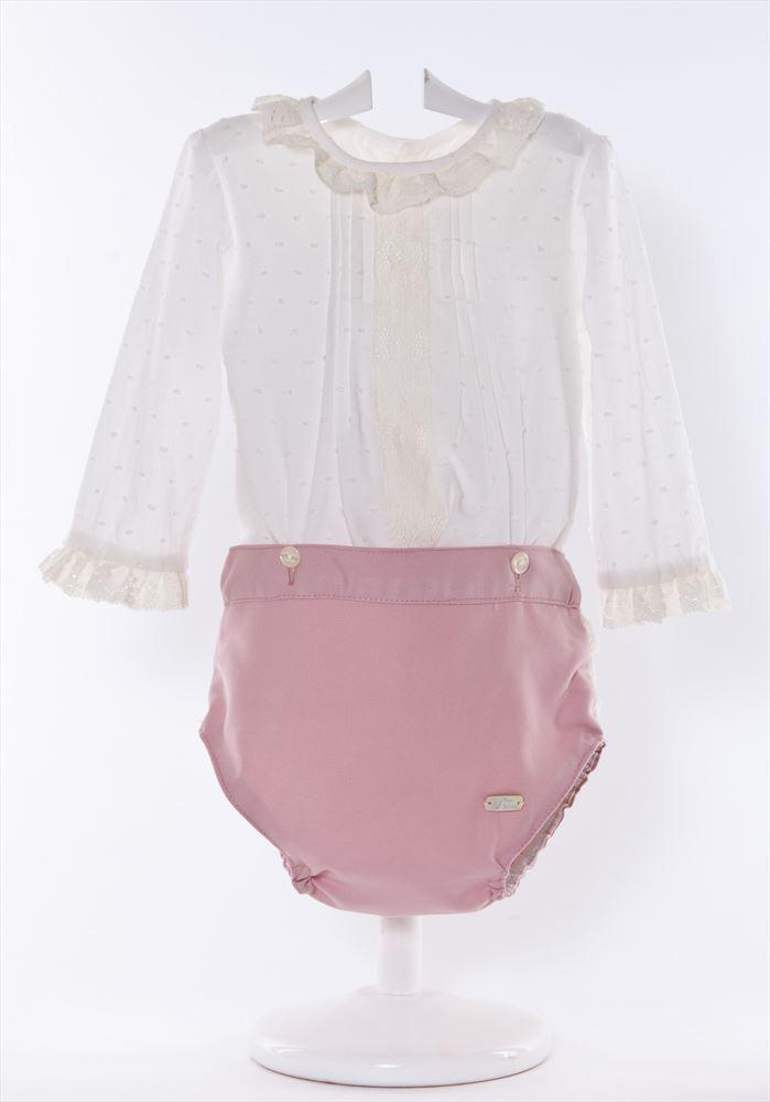 f81163e21 Conjunto de bebé camisa plumeti y braguita villela